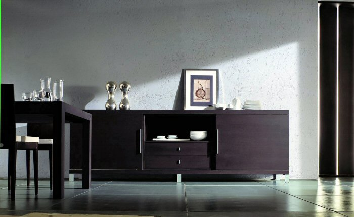 Mood rovere scuro credenza